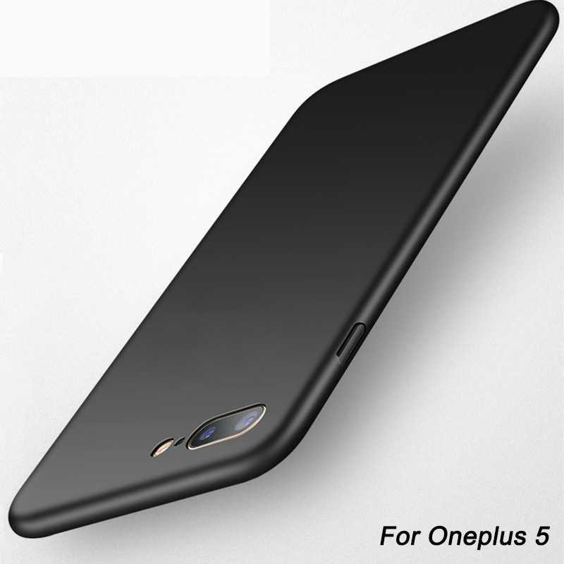 Ультра тонкий роскошный корпус матовый Жесткий чехол для телефона Oneplus 3 3t 6 три чехол для One Plus 5 5t пять крышка ПК