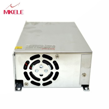 S-600-36 Enige Output Switching Voeding Voor LED Strip Licht AC Naar DC Schakelende Voeding 600 W 36 V 16.6A