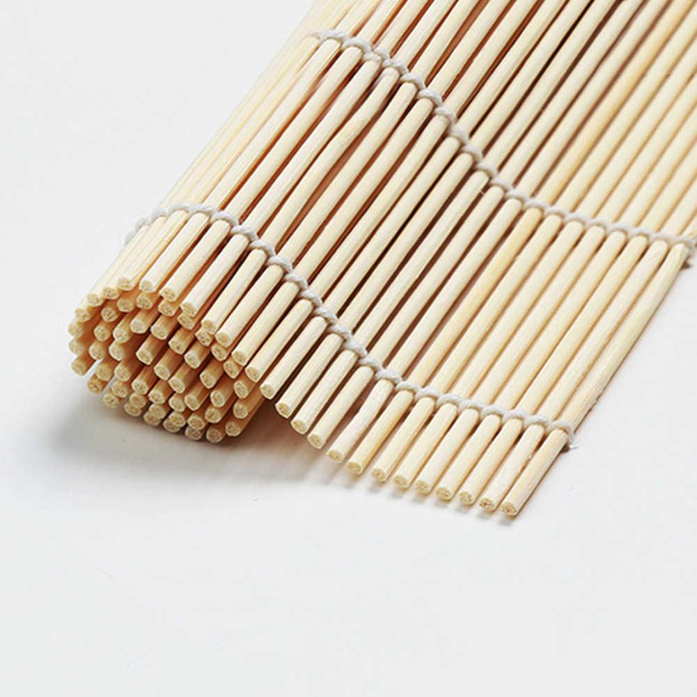 1 個diyの寿司ツール竹ローリングマットメーカーツールキッチンアクセサリー弁当装飾おにぎりライスローラー圧延メーカー