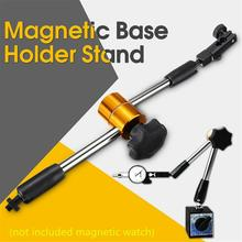 Universal Magnetic Metal Base Holder Stand Dial Test Indicator Flexible Tool Kit with Fine Adjustment Thread M8