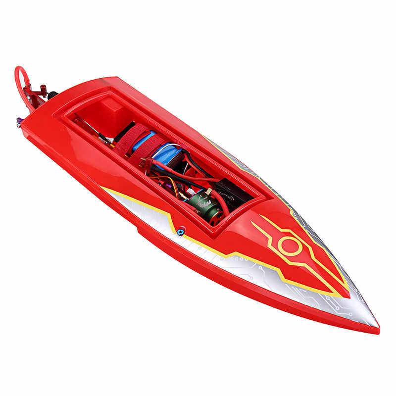016 500mm y 2,4G eléctrico sin escobillas Rc barco con sistema de enfriamiento de agua RTR modelo de alta velocidad barco RC al aire libre juguetes Para niño regalo de Juguetes