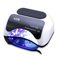 CAPPUCCI 48W Nail Dryer Polish Machine UV Lamp LED Nail Lamp Hybrid For Curing Nail Gel With Automatic Sensor Nail Art Tools
