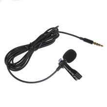 Lavalier Lapel Clip-on Omnidirectional miniphone TRRS 3.5mm Jack Handsfree 3.28ft Condenser Mini Recording Mic for Apple iPhon