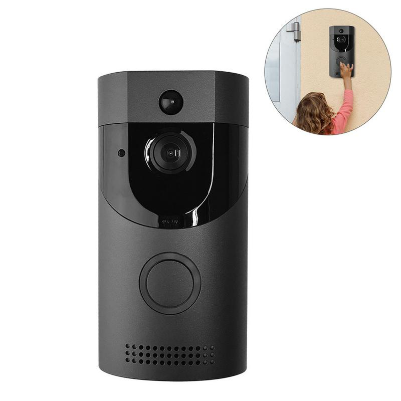 Sonnette d'interphone vidéo sans fil WIFI 720 P HD 2 voies Audio électronique sonnette Audio faible consommation d'énergie caméra de sécurité intelligente