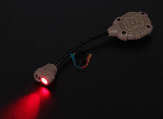 verde luz vermelha lanterna para militar luz 05