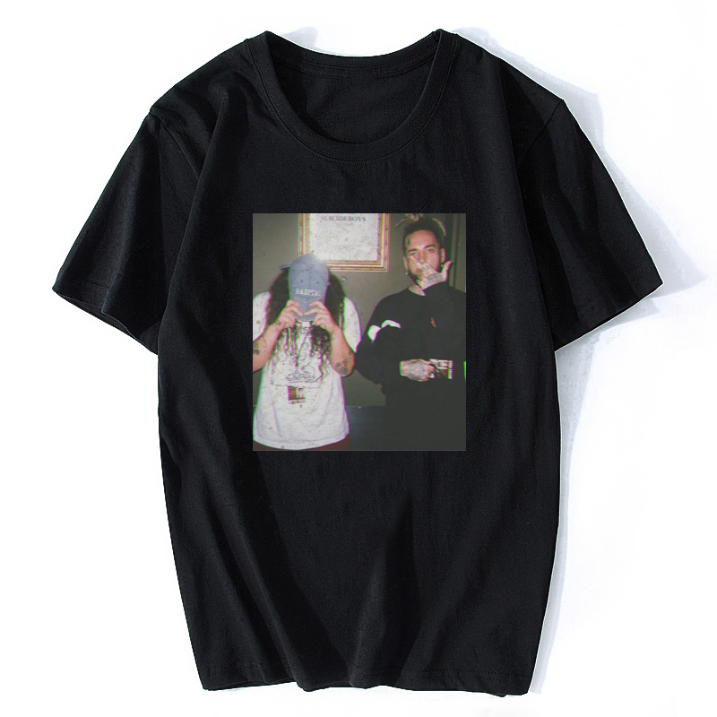 $uicideBoy$ Band Tshirt Awesome Funny Rap Hip Hop T Shirt Male T-Shirt Basic Casual Men Shirt Men's Tee Shirt With Short Sleeves
