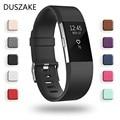 Сменные силиконовые ремешки Duszake, аксессуары для наручного браслета, ремешок для Fitbit Charge 2