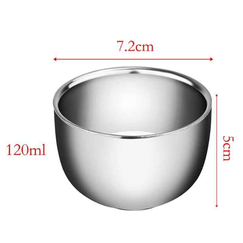 Высококачественная чаша для бритья из нержавеющей стали 120/200 мл мини утолщенное термо вспенивание кувшин Эспрессо кружки для кофе и молока