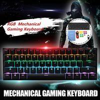 [Gateron Switch]Obins Anne Pro 2 60% NKRO bluetooth 4.0 Type C RGB Mechanical Gaming Keyboard