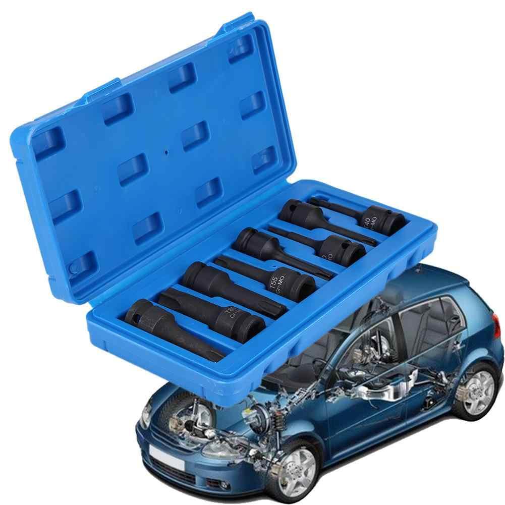 """8Pcs/1set 1/2"""" Inch Drive Torx Star Socket Bit Set T30 T40 T45 T50 T55 T60 T70 T80 Professional Car Tools Car Accessories NEW"""