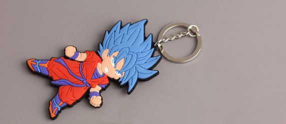 1 Pc Popular Dragon Ball Lembranças Chaveiro Chaveiro Dom Chaveiro Pingente Bonito Dos Desenhos Animados Suave Figura de Brinquedo