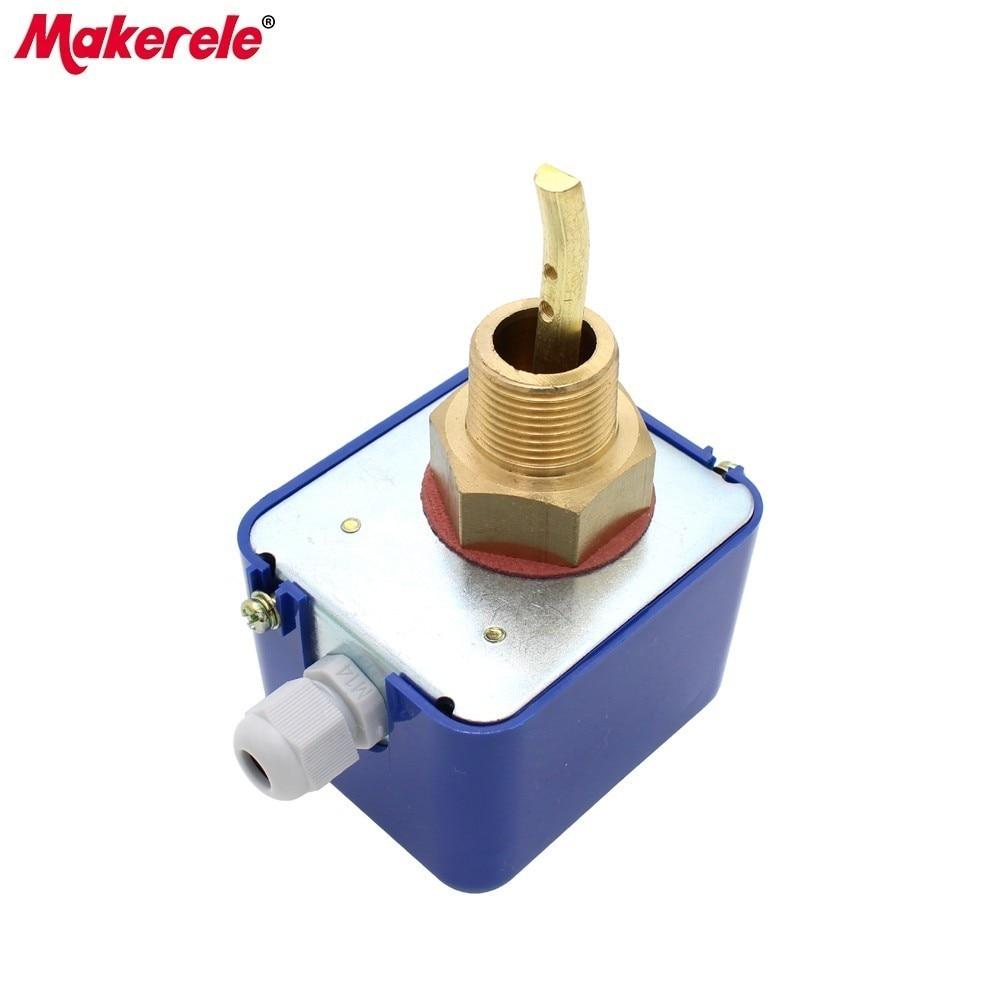 bomba de agua de rosca G1//2-G1//2 Sensor de flujo ajustable Interruptor de control autom/ático de presi/ón 220V para mejoras en el hogar industrial Interruptor del sensor de flujo