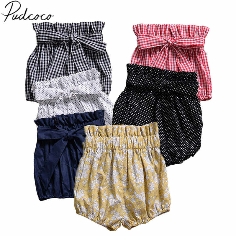 Toddler Infant Baby Boys Girls Kids Cotton PP Pants Shorts Bottoms Bloomers
