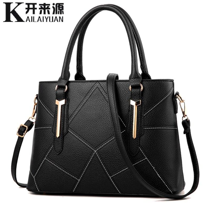 KLY 100% couro Genuíno Das Mulheres bolsas 2019 Nova versão Coreana do doce e elegante das mulheres do Sexo Feminino bolsa pendurada bolsa de ombro