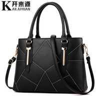KLY 100% sacs à main en cuir véritable pour femmes 2019 nouvelle version coréenne pour femmes du sac à bandoulière en bandoulière pour femmes doux et élégant