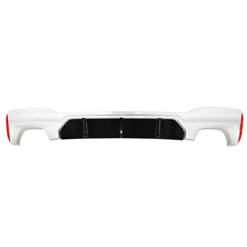 Rear Diffuser tuning Front Lip Car Accessory Decorative Styling Decoration Upgraded Bumpers protector 18 FOR BMW 5 series in Bumpers from Automobiles Motorcycles