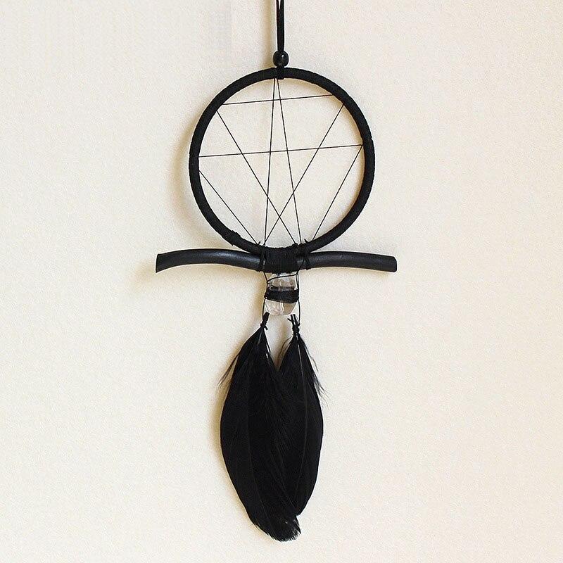 Новинка, кружевной черный ретро фонарь в форме сердца для девушек, ветровой колокольчик с перьями, подарок для любимой девушки, подарок для студентов и женщин|Ловцы снов и подвесные украшения| | АлиЭкспресс