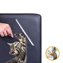 5 Упаковка защита для мебели от кошек, защита для дивана для домашних животных, защита для когтей для кошек и собак, самоклеящиеся подушечки+ поворотные булавки