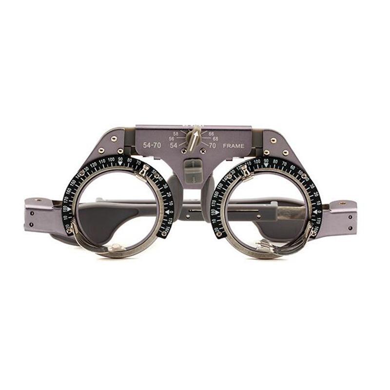 PD 54-70mm Adjustable Titanium Optometry Trial Frame Light Weight Trial Lens FramePD 54-70mm Adjustable Titanium Optometry Trial Frame Light Weight Trial Lens Frame