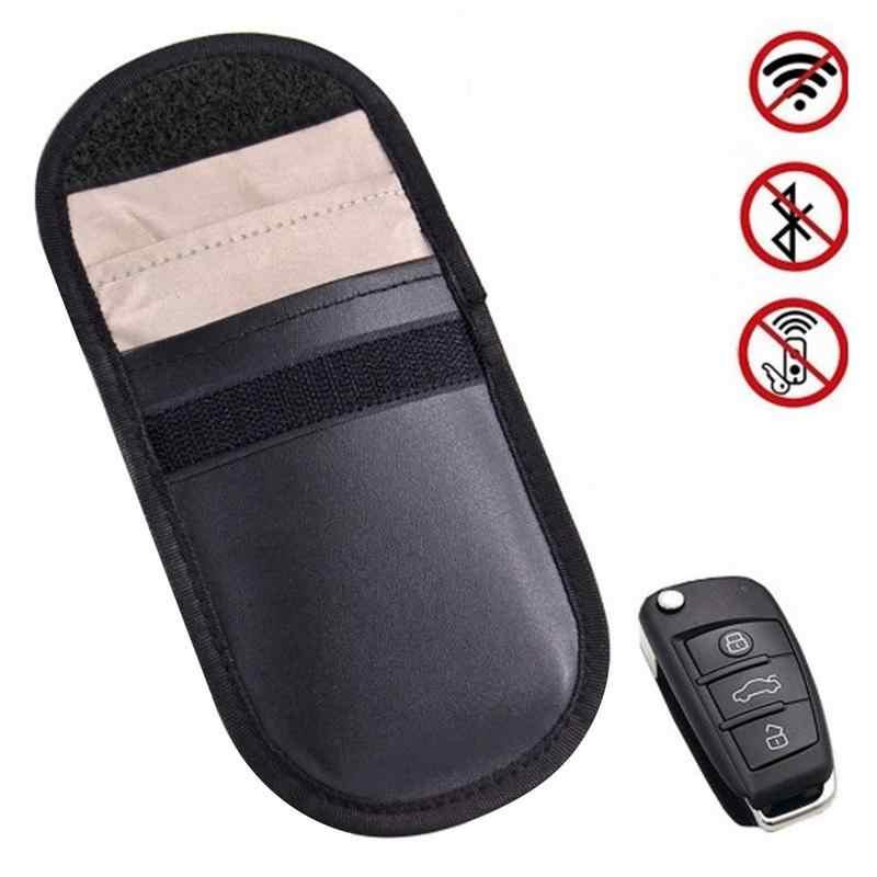 Rfid автомобильный пульт дистанционного управления экранирующий ключ кошелек Оксфорд Анти Rfid блокирующий ключ держатель противоугонное Экранирование чехол для кредитной карты