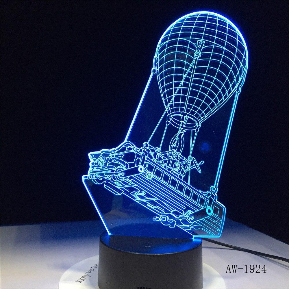 Боевой автобус 3D свет лама ночные светильники сенсорный светодиодный лава лампа Иллюзия освещение в подарок для фанатов игры Прямая постав...