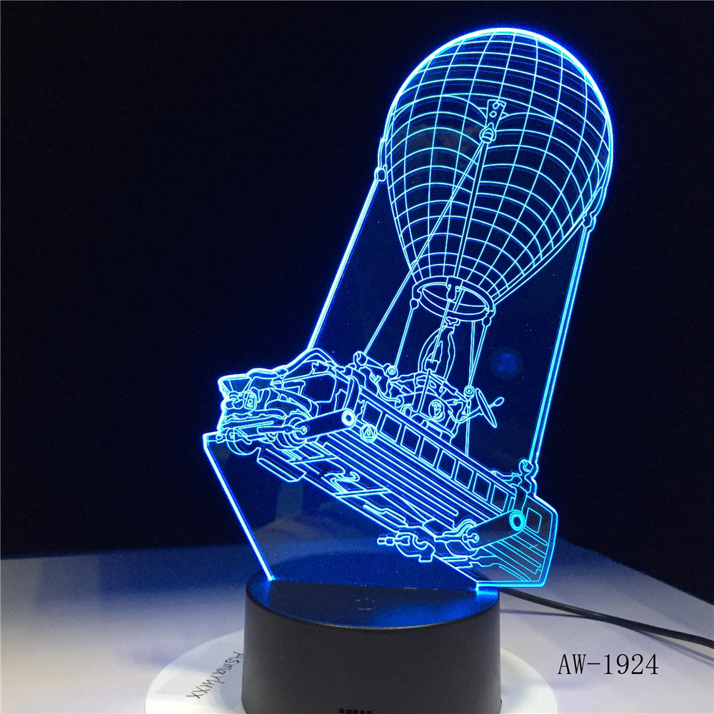 Battle Bus 3D Light Llama Night Lights Touch LED Lava Lamp Illusion Lighting for Game Fans Gift Drop Shipping AW-1924