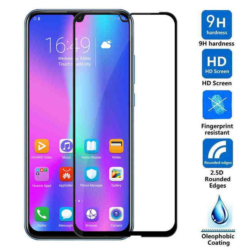 Vidrio templado para Huawei Honor 10i 8c cubierta completa de la película para Huawei Honor 20i de Honor10i Honor20 que Huavei 10i protector de pantalla