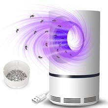 NEW Ultraviolet Low-voltage Light USB Mosquito Killer Lamp Safe Energy