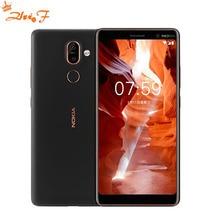 Оригинальный Nokia 7 Plus Android 8 Глобальный Встроенная память оты 4G 64G Snapdragon 660 Octa core 6,0 »2160×1080 P 18:9 3800 mAh Bluetooth 5,0