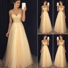 2019 Sexy Women Formal Wedding, Evening Party, Ball Prom Dress