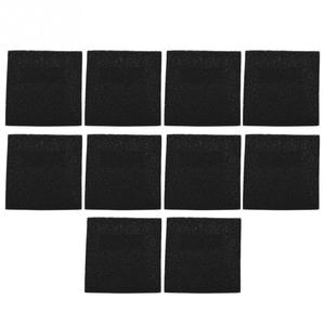 10pcs Activated Carbon Filter High Quality Sponge For 493 Solder Smoke Absorber ESD Fume Extractor 13*13*1cm Black HY1272 Weld(China)