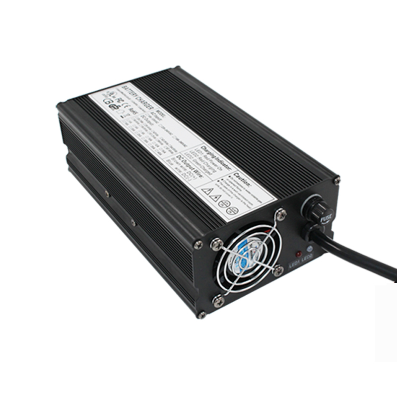 24 V 18A carregador 27.6 V Carregador de Chumbo ácido Carregador de bateria fonte de Alimentação para cadeira de rodas de carga - 5