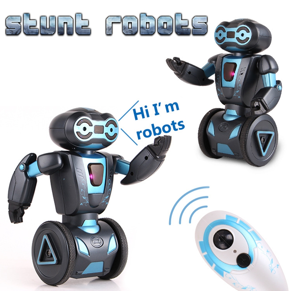 US $39 96 36% OFF|Intelligent Humanoid Robotic Remote Control Robot Toys  Kids Smart Self Balancing Robot Pets Dog Electronic Toys For Children-in