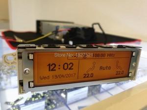 Image 2 - ¡Calidad superior! Pantalla de 12 pines compatible con USB, monitor de pantalla de aire de Zona Dual, Bluetooth para Peugeot 307 407 408 citroen C4 C5