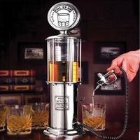 1000cc Liquor Beer Alcohol Water Juice Wine Soda Soft Drink Beverage Pump Gas Station Dispenser Machine (Silver)