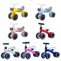 Baby Balance Bikes Bicycle Children Walker 10 Month 36 Months No Pedal Balance Car Infant 4 Wheels Toddler First Birthday Gife