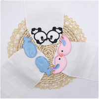 4 Cotton Gauze Baby Scapegoat A Piece Of Cloth Kindergarten Use Cartoon Lovely Sweatbands Baby Autumn And Winter Every Scarf