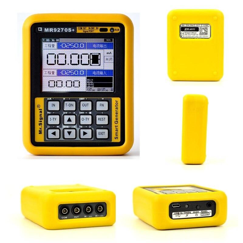 Image 4 - Модернизированный MR9270S + 4 20mA генератор сигналов калибровочный Ток Напряжение PT100 датчик давления термопары PID частотаГенераторы сигнала    АлиЭкспресс