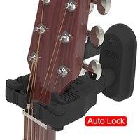Gitarre Wand Montieren Aufhänger Halter Keeper Haken Stehen Auto-Lock-System für Elektrische Akustische Gitarren Bass String Instrument