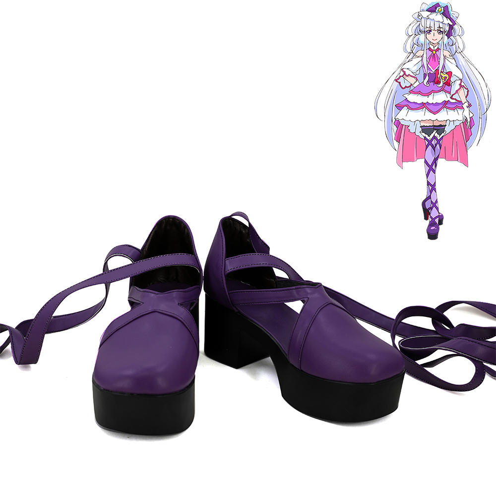 Hugtto Pretty Cure Ruru Amour Cure Amour Cosplay Shoes Women Boots