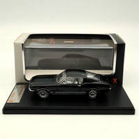 IXO Premium X 1:43 FORD MUSTANG GT FASTBACK 1967 Black PRD366J Toys Car Collection Resin Models
