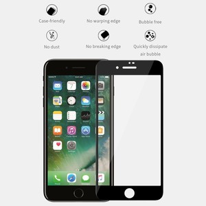 Image 2 - NILLKIN XD Protector de pantalla antideslumbrante para iPhone, Protector de pantalla de vidrio templado para iphone 7, 8 plus, 8 plus, 3D
