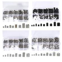 220pcs/set M3-M8 Female Male Hex Screws Kit Standoff Spacer Column for PCB Motherboard Fixed Plastic Spacing Screws Set(China)