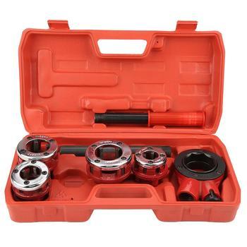 """Kit de hilo de fontanero Manual, herramienta de alta calidad, 1/2 """", 3/4"""", 1 """"y 1/4"""""""