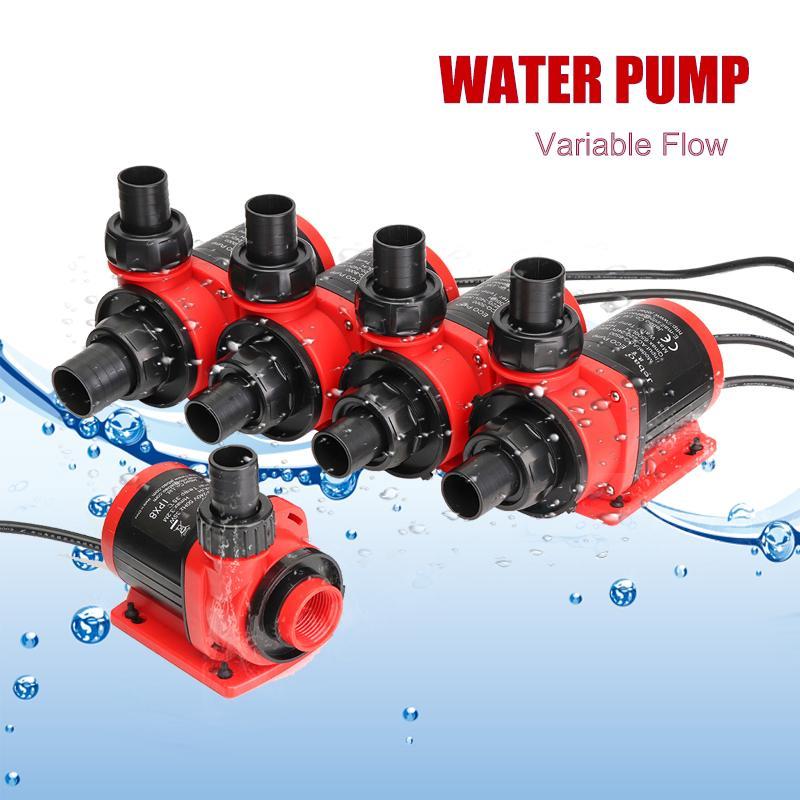 35/48/62/70/82W 3500 10000L/H Variable Flow Ultra Quiet Submersible Water Pump Filter Fish Pond Fountain Aquarium Tank High lift