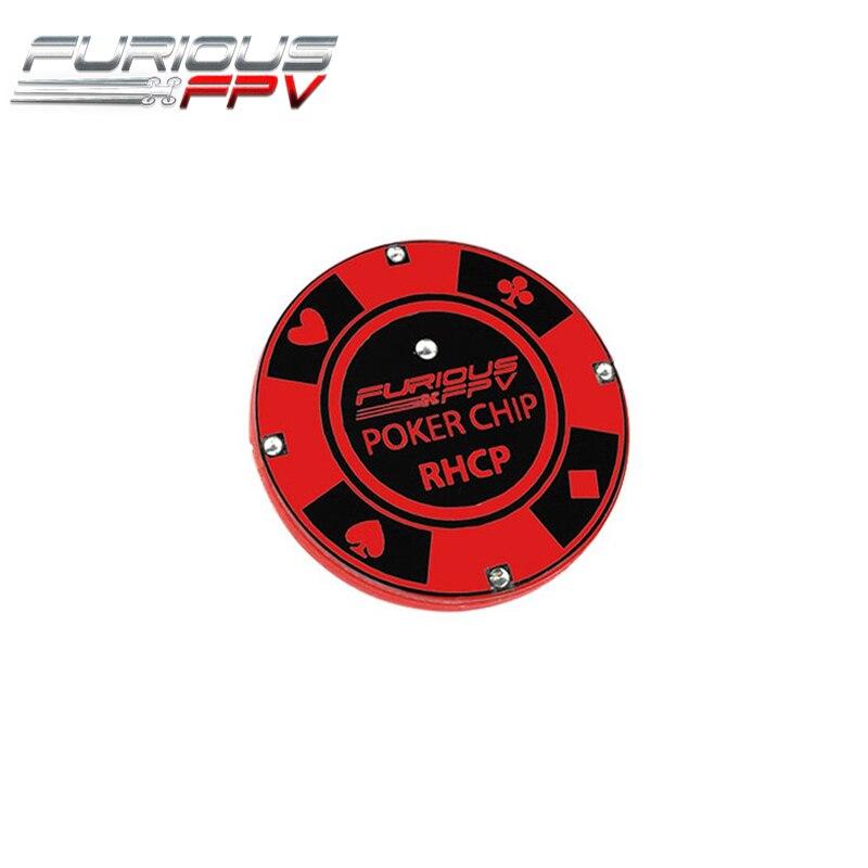 FuriousFPV 5.8 ghz 10dBi Gain Poker Puce FPV Antenne LHCP/RHCP Avec SMA Mâle Connecteur Pour Drone Quadcopter FPV lunettes Partie Accessoire