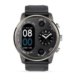 T3Dual Смарт-часы для мужчин часовой пояс сердечного ритма многоязычный отклонить кнопку аналоговая зарядная док-станция Smartwatch 2019