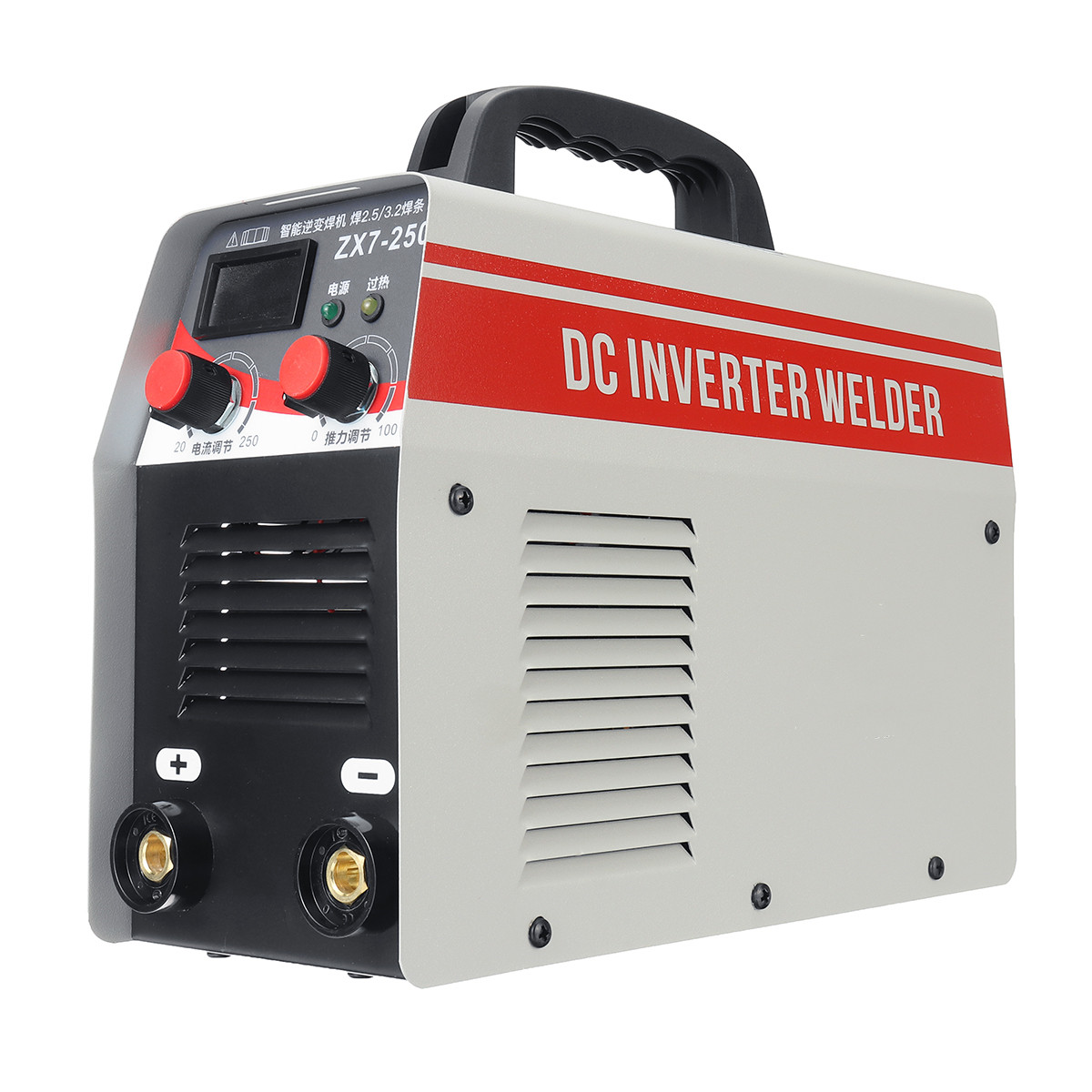 1Pcs DC Inverter Electric Welding Machine 250A Phase Welder Digital Dsplay Welding Apparatus