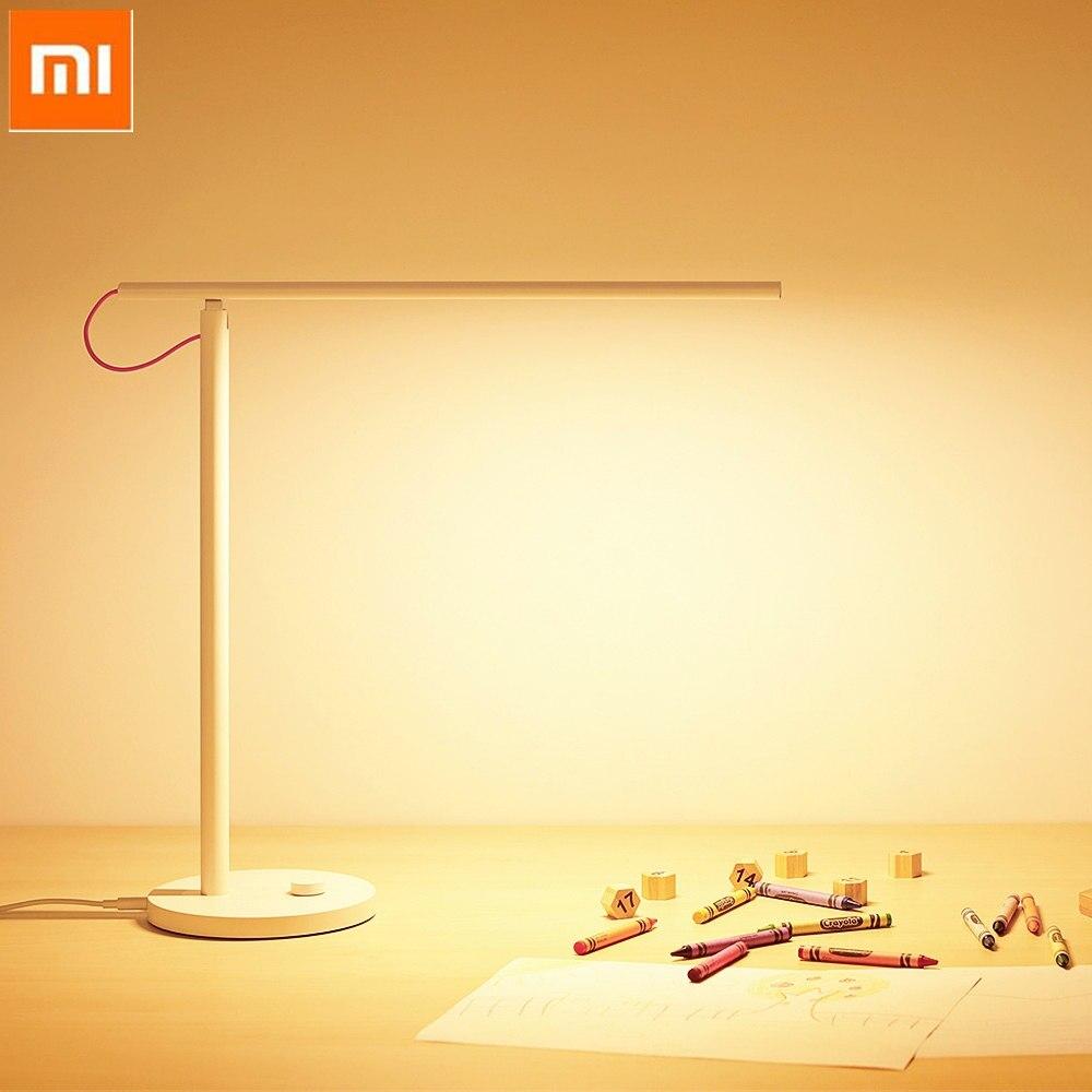 Xiaomi Mija MJTD01YL lampe de bureau LED intelligente sans scintillement gradation intelligente 4 Modes d'éclairage APP contrôle lumière de Protection oculaire
