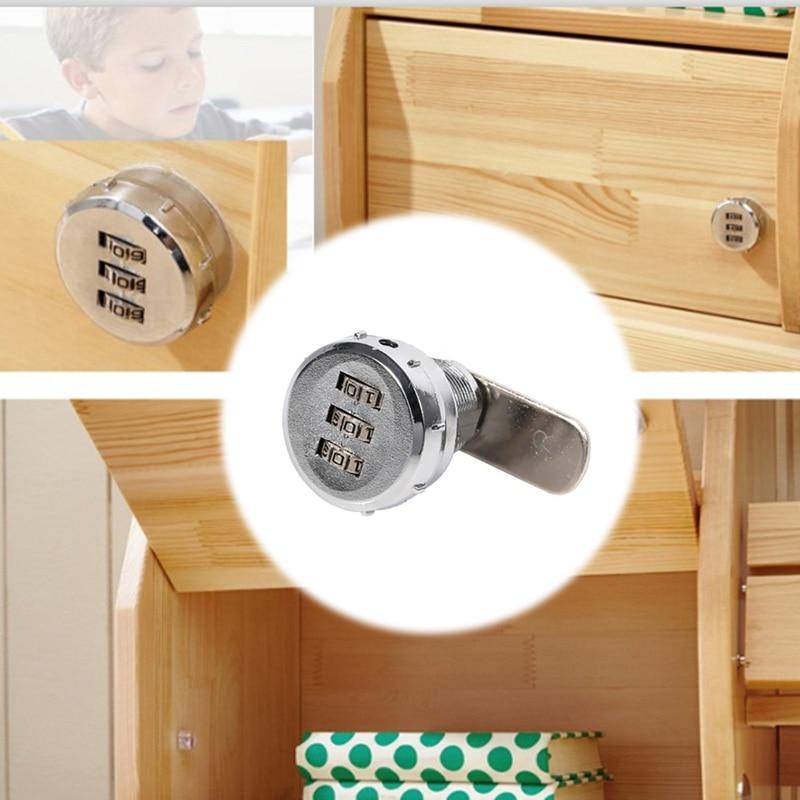 Fixings Desk Drawer Filing Cabinet Lock 2 x Sterling 180 Degrees 20mm Camlock